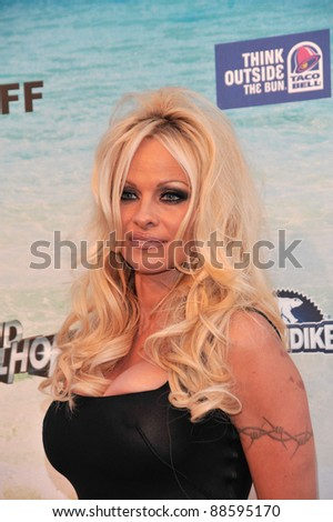 Pamela Anderson - at the Comedy Central Roast of Baywatch star David Hasselhoff at Sony Studios, Culver City, CA. August 1, 2010  Los Angeles, CA Picture: Paul Smith / Featureflash