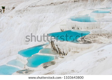 Pamukkale Hot Springs in Denizli Province #1103643800