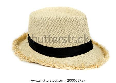 Panama Hat isolated on white #200003957