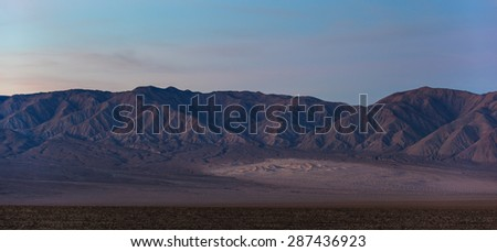 Panamint Sand Dunes in Death Valley, California #287436923