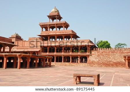 Panch Mahal in Fatehpur Sikri, India