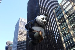 Panda thanksgiving New York parade