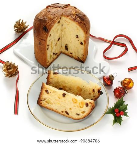 panettone, italian christmas bread