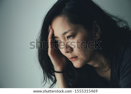panic attacks alone young woman sad fear stressful depressed emotion.crying begging help.stop abusing domestic violence,person with health anxiety,people bad frustrated exhausted feeling down