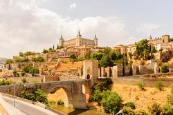 Paniramic view of Toledo, Spain, UNESCO World Heritage