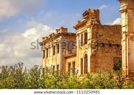 Pankeev estate in village Vasilyevka, Odessa region, Ukraine #1113250985