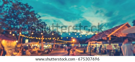 panorama abstract blur image of ...