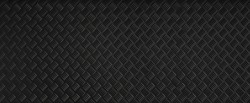 Panorama Black dark grey Checker Plate abstract floor metal stanless background stainless pattern surface. wild picture