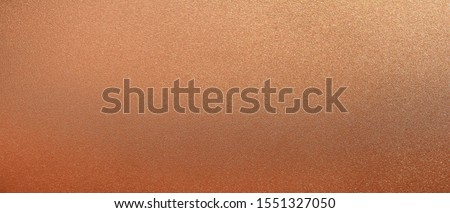 Panorama bronze texture background. Panoramic shiny smooth bronze texture surface. Glitter and glossy copper texture Сток-фото ©