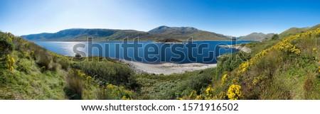 Panorama, Cluanie, Scotland, United Kingdom