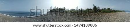 Panorama 360-degree pantai cimaja sukabumi #1494189806