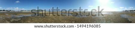 Panorama 360-degree Pantai Ujung Genteng #1494196085