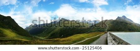 panorama from silvretta