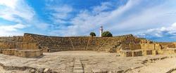 Panorama odeon theatre,  second century AD. Paphos. Cyprus