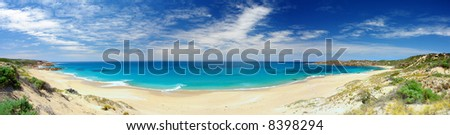 Panorama Of Butlers Beach, South Australia