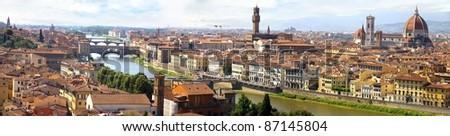 Panorama of Florence.