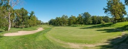Panorama of Golfcourse at Kansas city