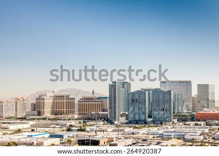 Panorama of Las Vegas, Nevada, USA #264920387