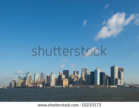 panorama of manhattan, new york