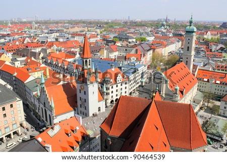 Panorama of Munich