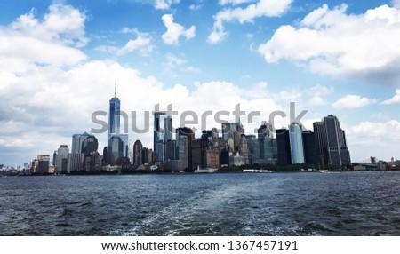 Panorama of NYC skyline
