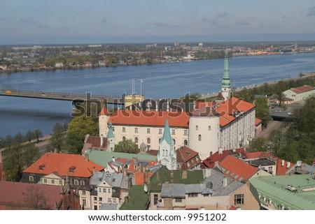 Panorama of Riga, Presidents's castle