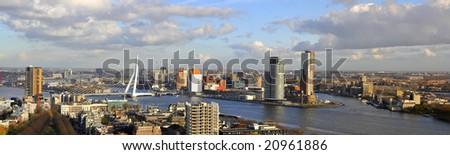 Panorama of Rotterdam