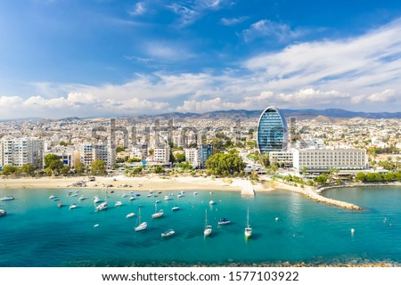 Panorama Of The City Of Limassol, Cyprus Сток-фото ©