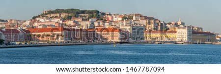 Panorama of the city of Lisbon