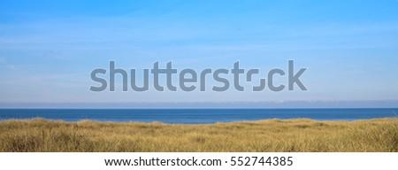 panorama of the danish coastline