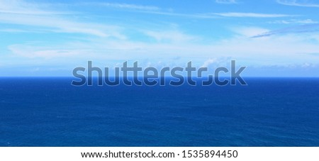 Panorama of the Pacific Ocean #1535894450
