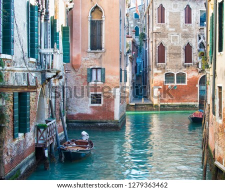Panorama of the Venice Lagoon #1279363462