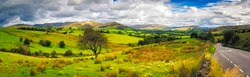Panorama of The Yorkshire Dales is an upland area of the Pennines in Northern England in the historic county of Yorkshire, most of it in the Yorkshire Dales National Park.