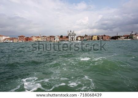 Panorama of Venice #718068439