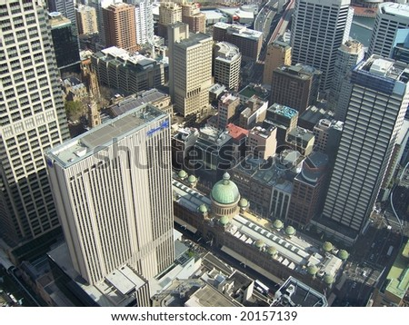 panorama photo of sydney