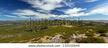Panoramic Landscape in Pis�µes - Montalegre - Portugal