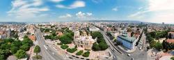 Panoramic landscape of Varna, Bulgaria