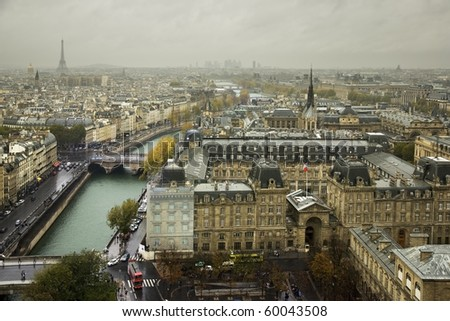 Panoramic of Paris
