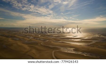 panoramic shot of the beach.