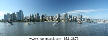 Panoramic Vancouver Waterfront Views