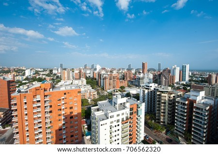 Panoramic View, Barranquilla, Colombia