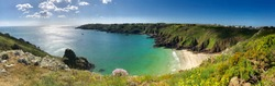 Panoramic view in Guernsey Island