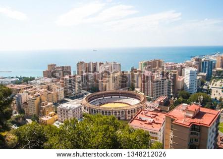 Panoramic view, Malaga