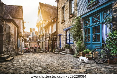 panoramic view of a charming...
