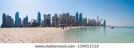 panoramic view of a Jumeirah beach