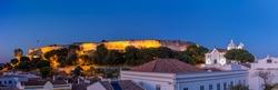 Panoramic view of Castro Marim, Algarve, Portugal