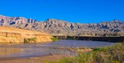 Panoramic view of Colorado River