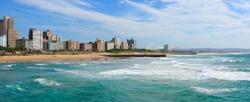 Panoramic view of Durban's