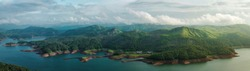 Panoramic View of Idukki, Kerala