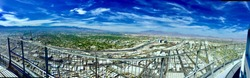 Panoramic view of Las Vegas from the Stratosphere